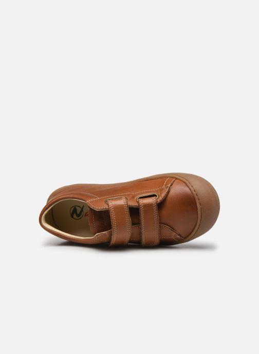 Sneakers Naturino Gabby VL Marrone immagine sinistra