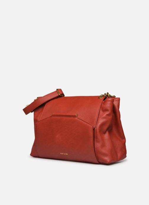 Handtaschen Nat & Nin ROXANE weinrot schuhe getragen