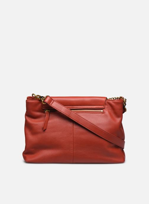 Handtaschen Nat & Nin ROXANE weinrot ansicht von vorne