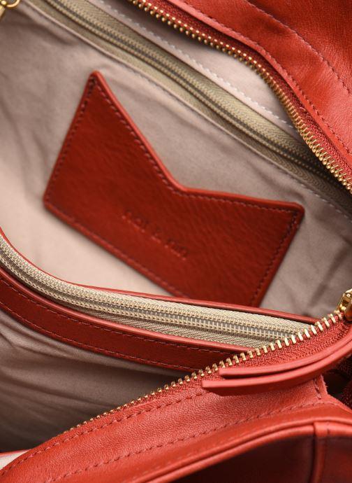 Handtaschen Nat & Nin ROXANE weinrot ansicht von hinten