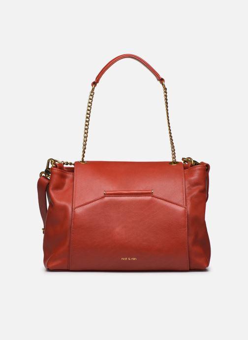 Handtaschen Nat & Nin ROXANE weinrot ansicht von links