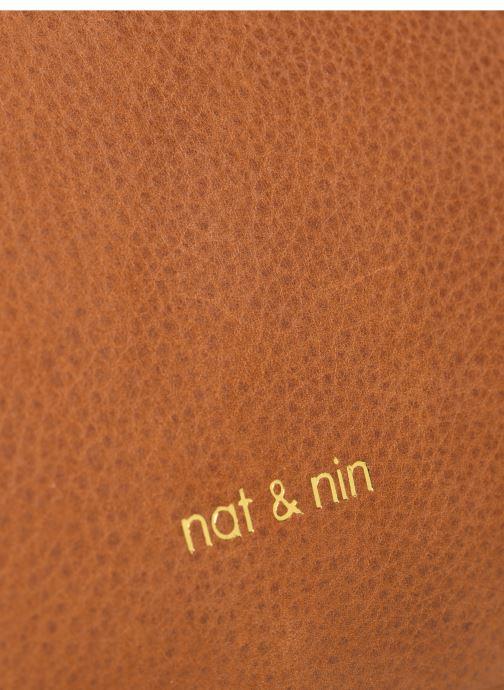 Sacs à main Nat & Nin ROXANE Marron vue gauche