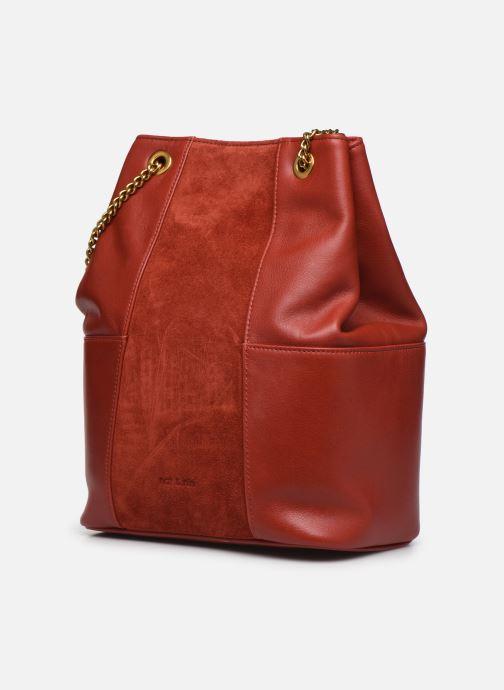 Handtaschen Nat & Nin ALIZEE orange schuhe getragen