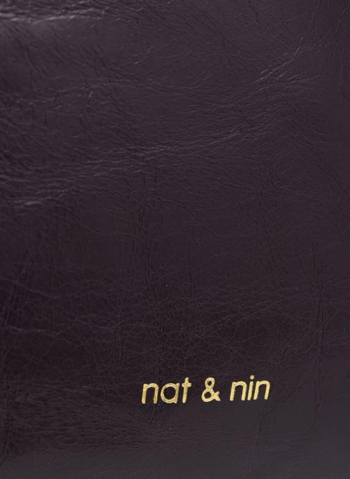 Sacs à main Nat & Nin DIANE Violet vue gauche