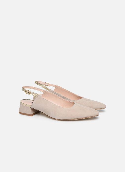 Zapatos de tacón Parallèle HELIX Beige vista 3/4