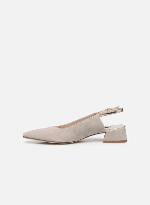 Zapatos de tacón Parallèle HELIX Beige vista de frente