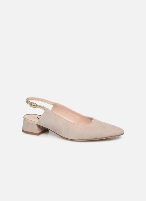 Zapatos de tacón Parallèle HELIX Beige vista de detalle / par