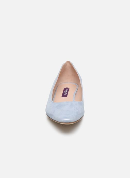 Escarpins Parallèle HIVY Bleu vue portées chaussures