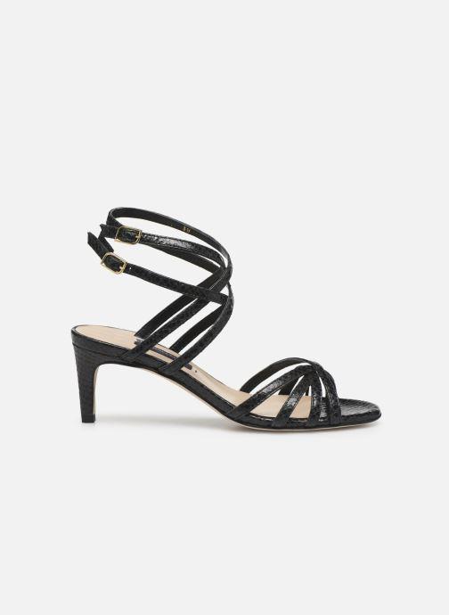 Sandales et nu-pieds Parallèle INAGA Noir vue derrière