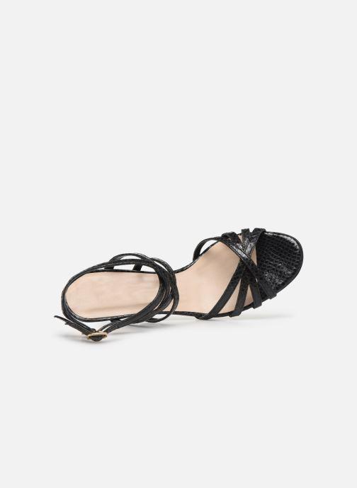 Sandales et nu-pieds Parallèle INAGA Noir vue gauche