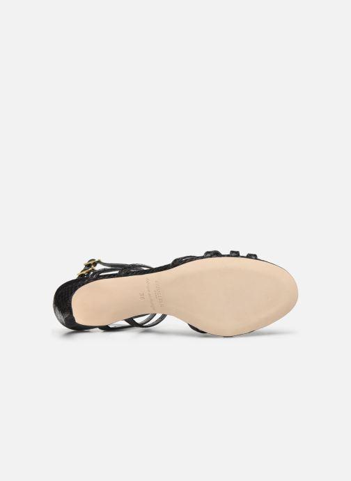Sandales et nu-pieds Parallèle INAGA Noir vue haut