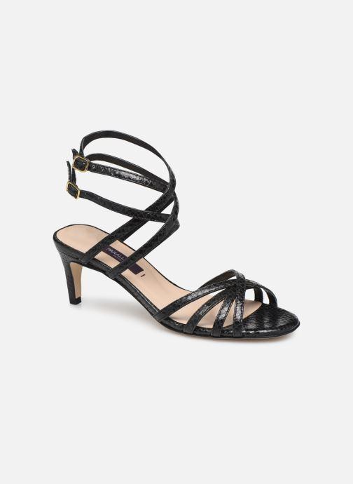 Sandales et nu-pieds Parallèle INAGA Noir vue détail/paire