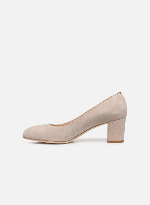 Zapatos de tacón Parallèle LIBBA Beige vista de frente