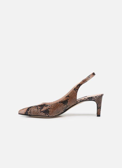 Zapatos de tacón Parallèle NELSA Marrón vista de frente