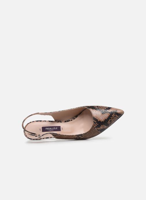Zapatos de tacón Parallèle NELSA Marrón vista lateral izquierda