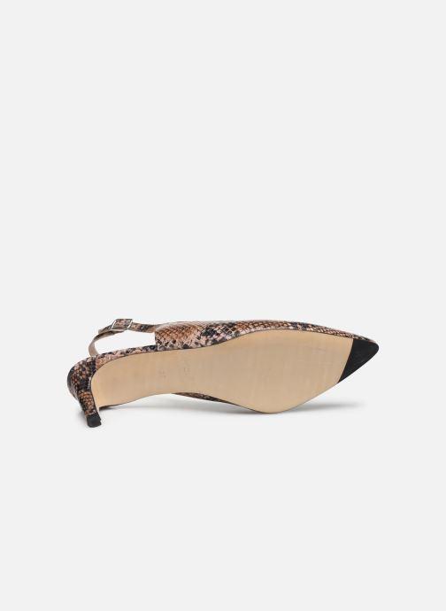 Zapatos de tacón Parallèle NELSA Marrón vista de arriba