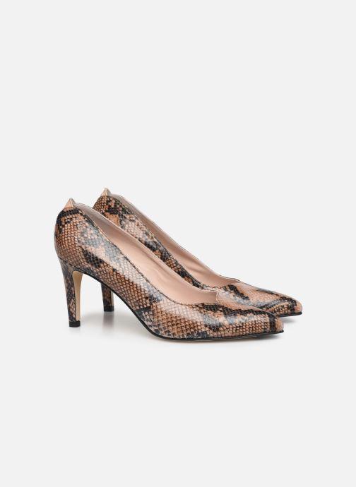 Zapatos de tacón Parallèle ORELA Marrón vista 3/4