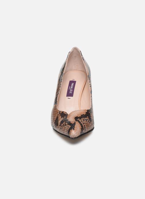 Escarpins Parallèle ORELA Marron vue portées chaussures