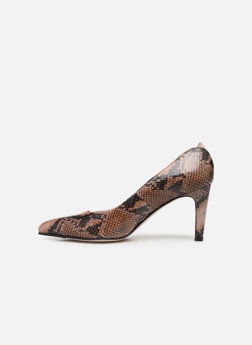 Zapatos de tacón Parallèle ORELA Marrón vista de frente