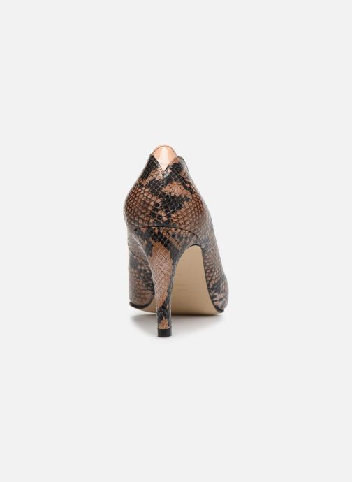 Zapatos de tacón Parallèle ORELA Marrón vista lateral derecha