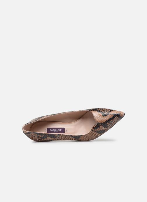 Zapatos de tacón Parallèle ORELA Marrón vista lateral izquierda