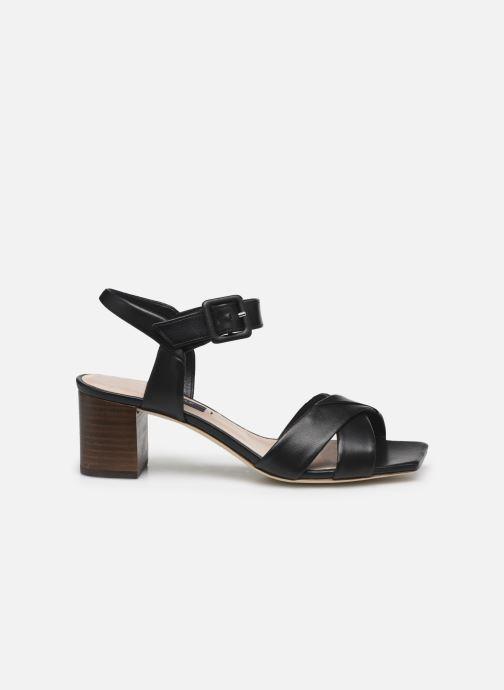 Sandales et nu-pieds Parallèle PAKANDA Noir vue derrière