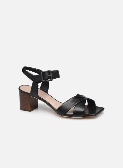 Sandales et nu-pieds Parallèle PAKANDA Noir vue détail/paire