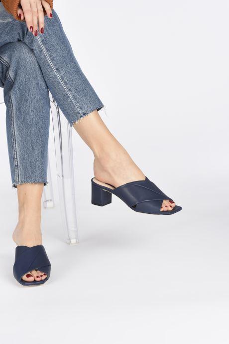 Chaussure Femme Grande Remise Parallèle PAULA Bleu Mules et sabots 428839