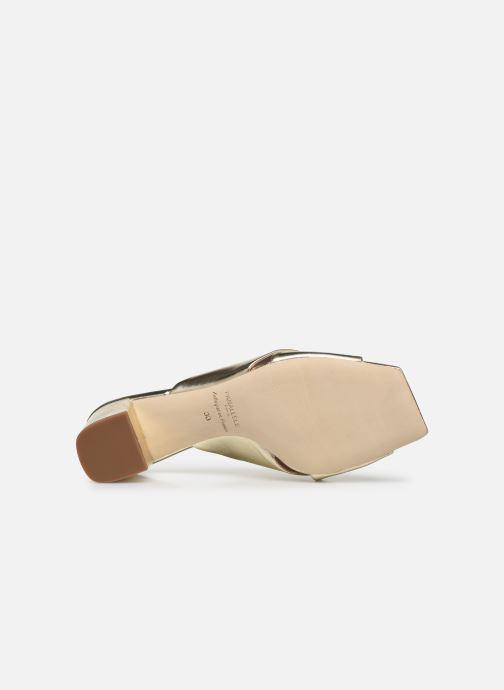 Chaussure Femme Grande Remise Parallèle PAULA Or et bronze Mules et sabots 428840