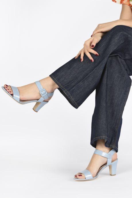 Sandali e scarpe aperte Parallèle POMA Azzurro immagine dal basso