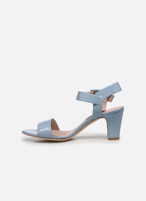 Sandali e scarpe aperte Parallèle POMA Azzurro immagine frontale