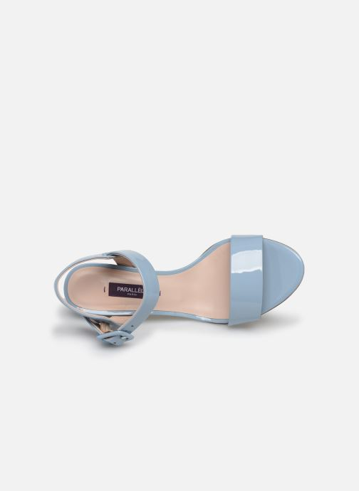Sandali e scarpe aperte Parallèle POMA Azzurro immagine sinistra