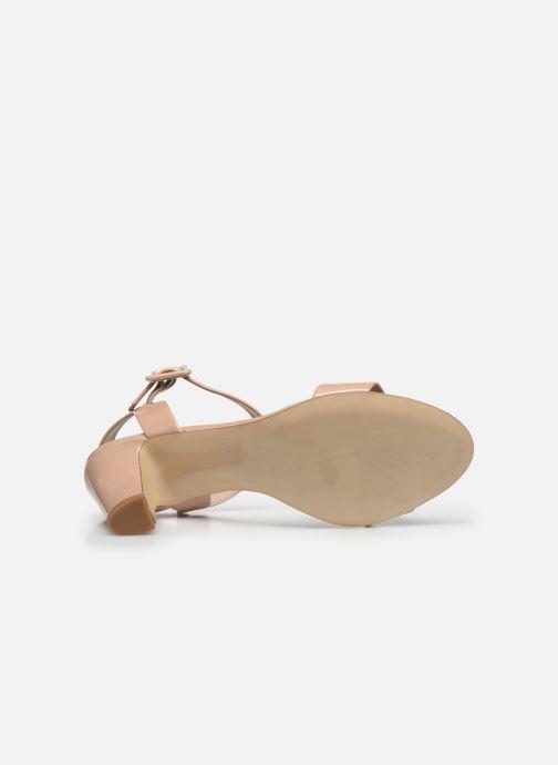 Sandales et nu-pieds Parallèle POMA Beige vue haut