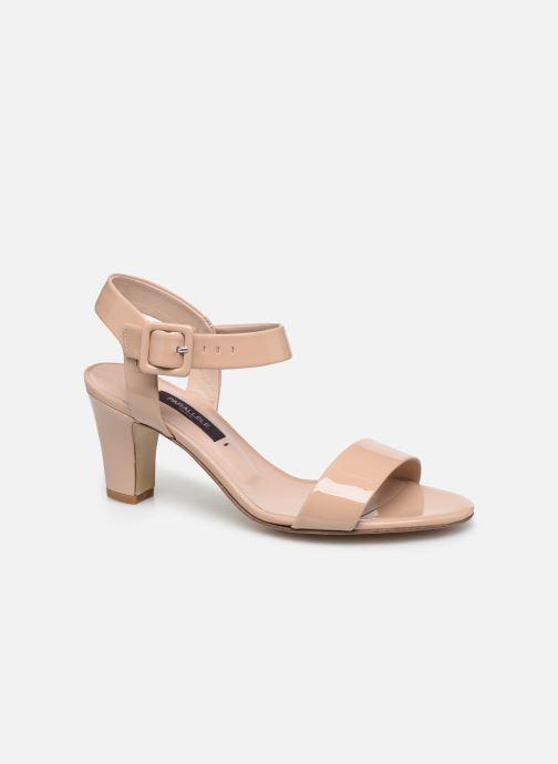 Sandales et nu-pieds Parallèle POMA Beige vue détail/paire