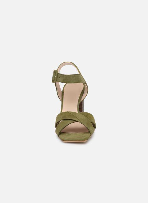 Sandales et nu-pieds Parallèle XAKANDA Vert vue portées chaussures