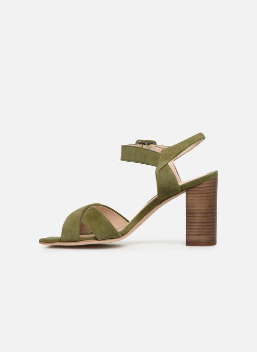 Sandales et nu-pieds Parallèle XAKANDA Vert vue face
