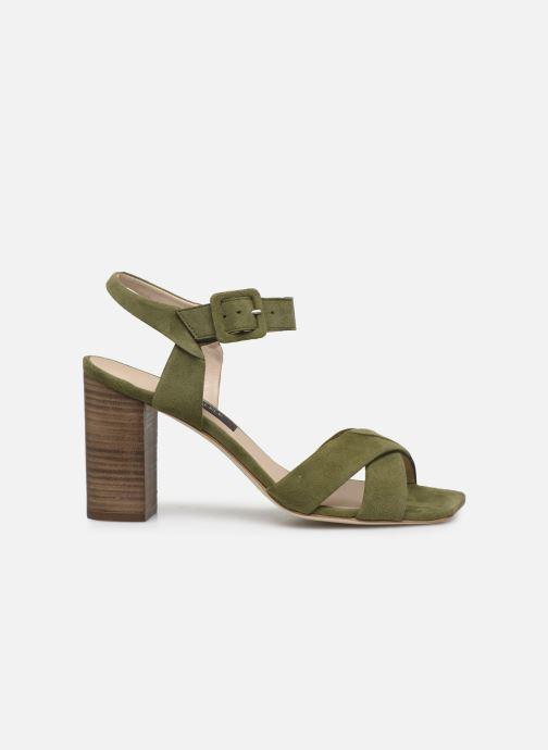 Sandales et nu-pieds Parallèle XAKANDA Vert vue derrière