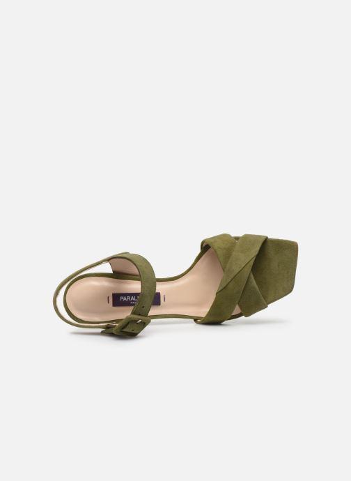 Sandales et nu-pieds Parallèle XAKANDA Vert vue gauche