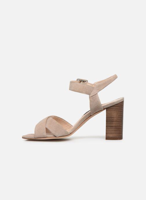 Sandali e scarpe aperte Parallèle XAKANDA Beige immagine frontale