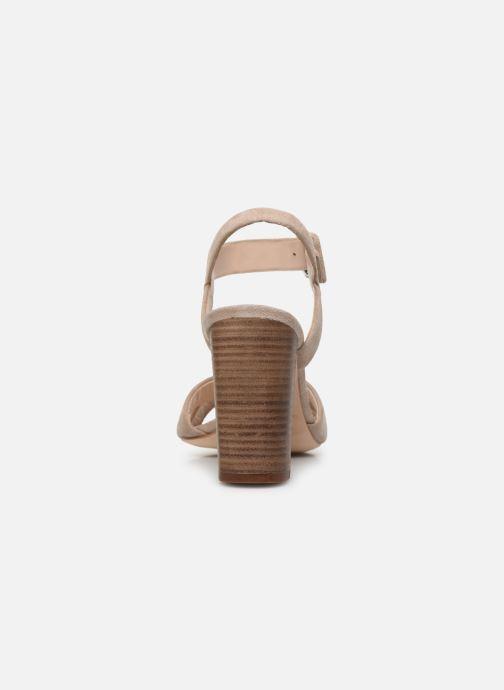 Sandali e scarpe aperte Parallèle XAKANDA Beige immagine destra