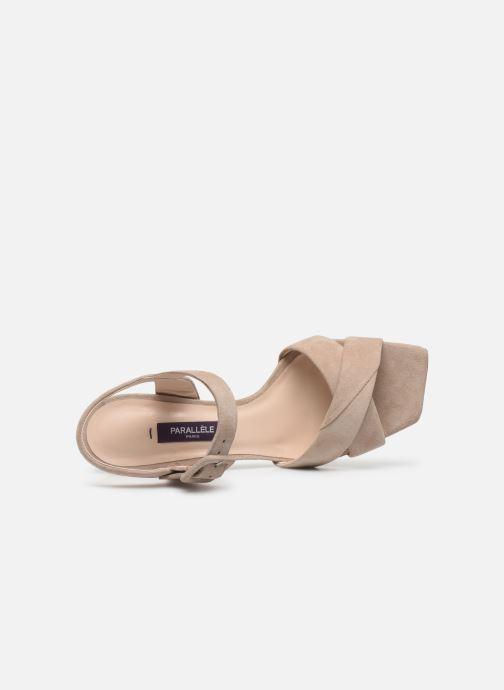 Sandali e scarpe aperte Parallèle XAKANDA Beige immagine sinistra