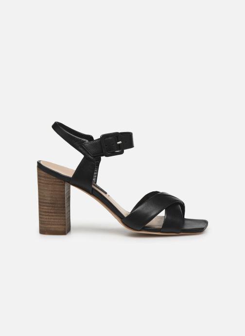 Sandales et nu-pieds Parallèle XAKANDA Noir vue derrière