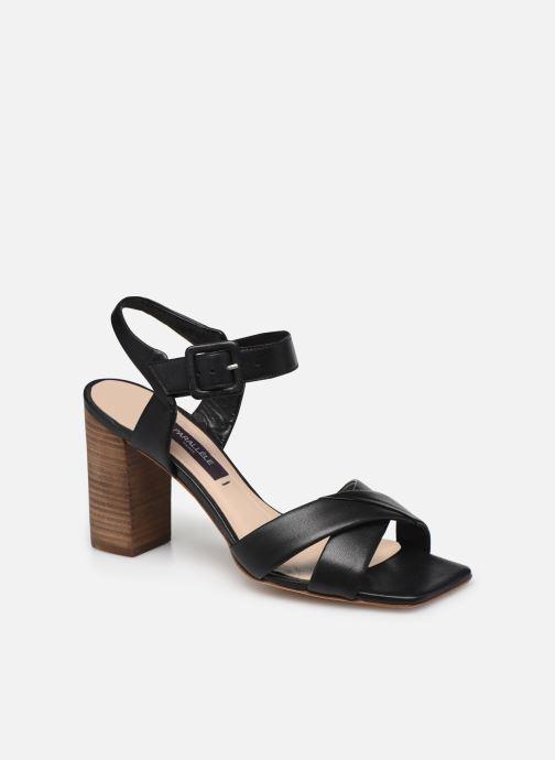 Sandales et nu-pieds Parallèle XAKANDA Noir vue détail/paire