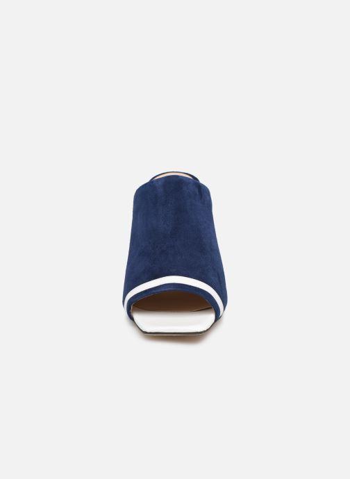 Mules et sabots Parallèle XYLO Bleu vue portées chaussures