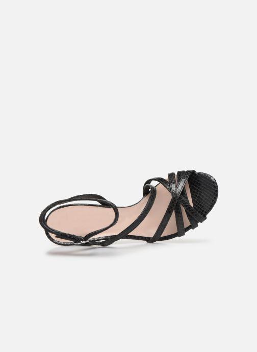 Sandales et nu-pieds Parallèle YADUA Noir vue gauche
