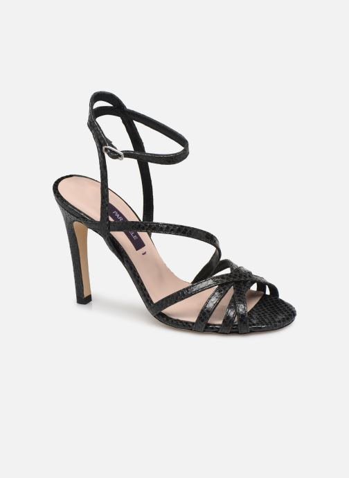 Sandales et nu-pieds Parallèle YADUA Noir vue détail/paire