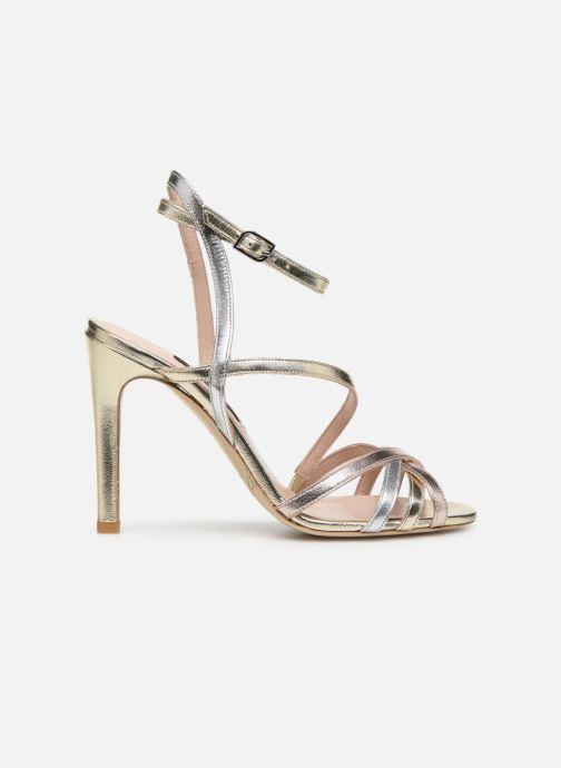 Sandales et nu-pieds Parallèle YADUA Or et bronze vue derrière