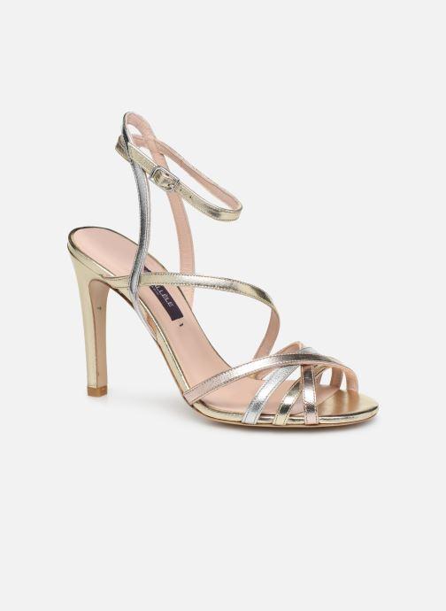 Sandales et nu-pieds Parallèle YADUA Or et bronze vue détail/paire