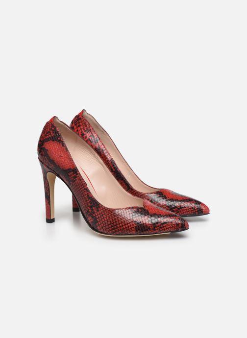 Zapatos de tacón Parallèle ZIRTA Rojo vista 3/4