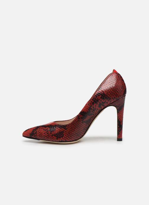 Zapatos de tacón Parallèle ZIRTA Rojo vista de frente